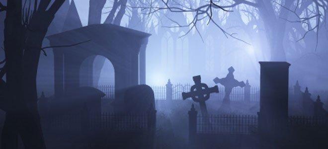 Pánico en el cementerio.