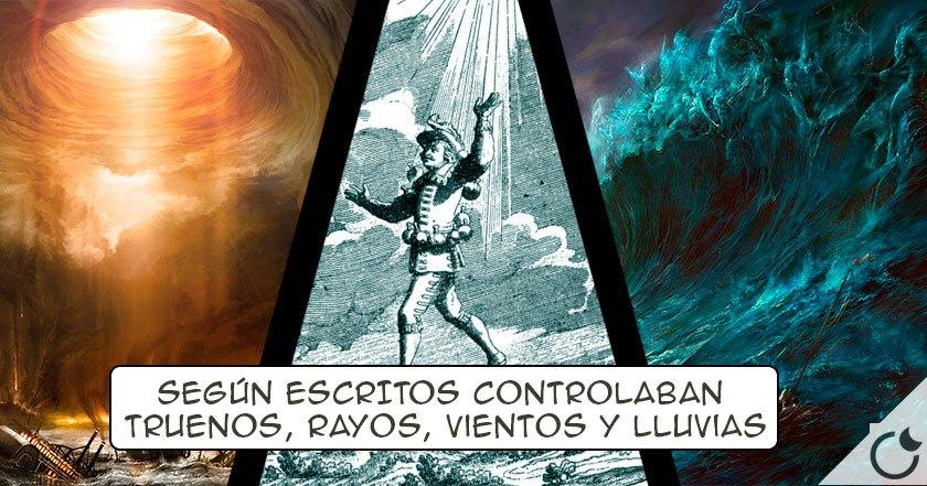Extraterretres en la E.Media DOCUMENTADOS que provocaban TORMENTAS MORTALES :TEMPESTARIOS