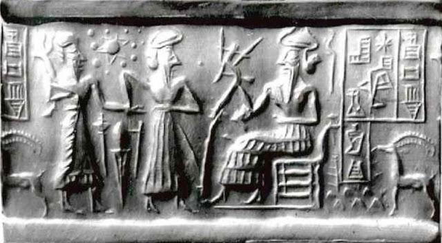 El antiguo sello sumerio del cilindro ¿representa a 12 planetas en nuestro Sistema Solar?