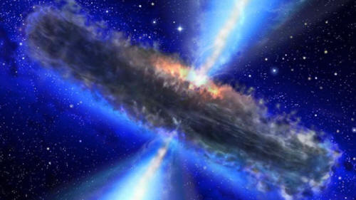 Un agujero negro se carga la teoría de la relatividad de Einstein