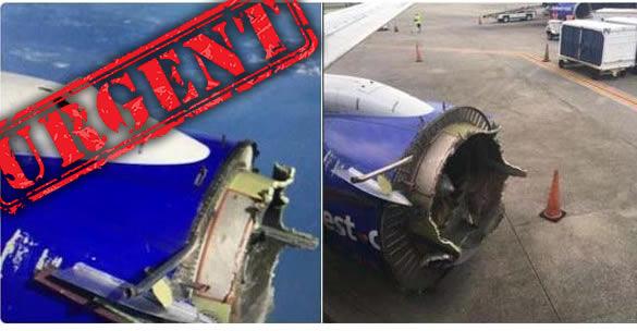 ¿POSIBLE ATAQUE DE UN OVNI A UN BOEING 737?
