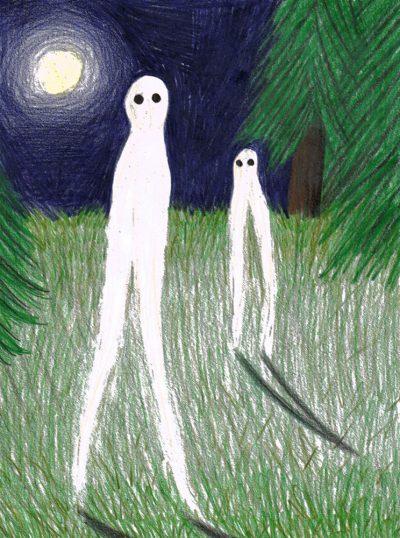 """El Aterrador """"Extraterrestre Nocturno"""""""
