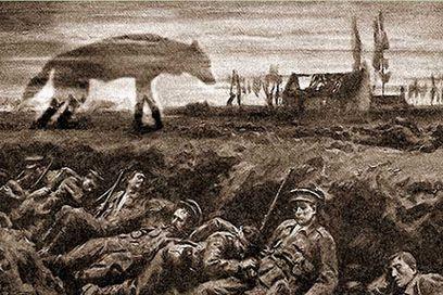 El Perro del infierno De La Primera Guerra Mundial
