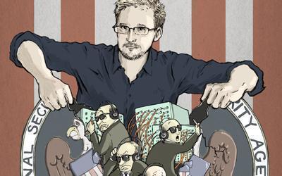 """Edward Snowden: """"la Nasa roba y produce cintas de contenido intimo y las utiliza para el chantaje"""