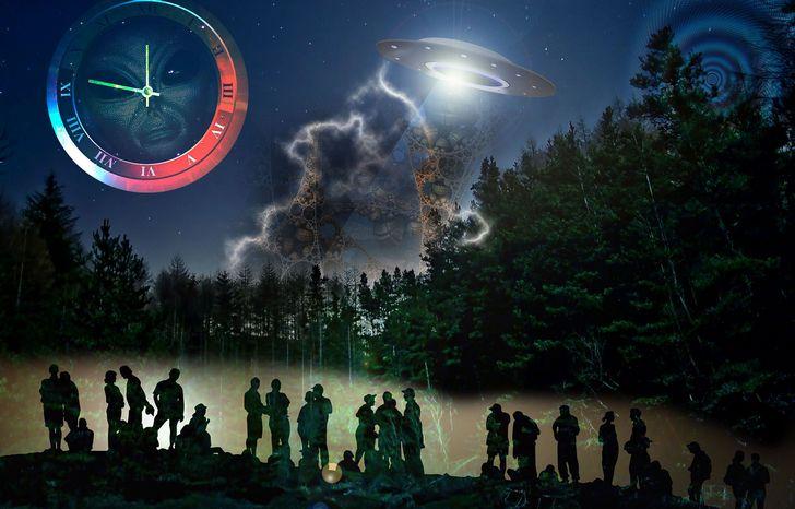 Ovni viajeros dimensionales o del tiempo