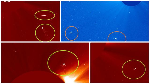 Misteriosas Anomalías UFO Continúan Haciendo Presencia en la Órbita Solar