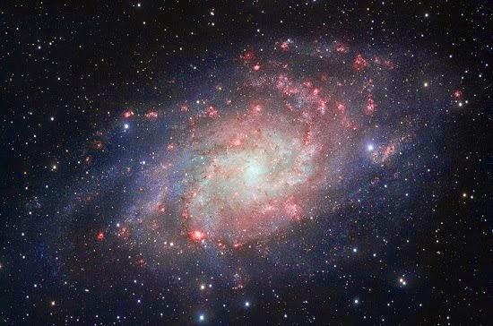 La galaxia del Triángulo – mejor imagen tomada hasta el momento