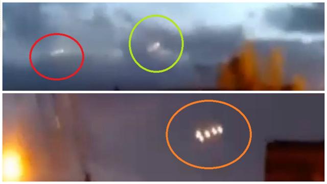 Extraños Objetos UFO Filmados en Chile