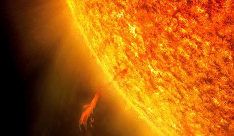 El Sol versus Calentamiento Global