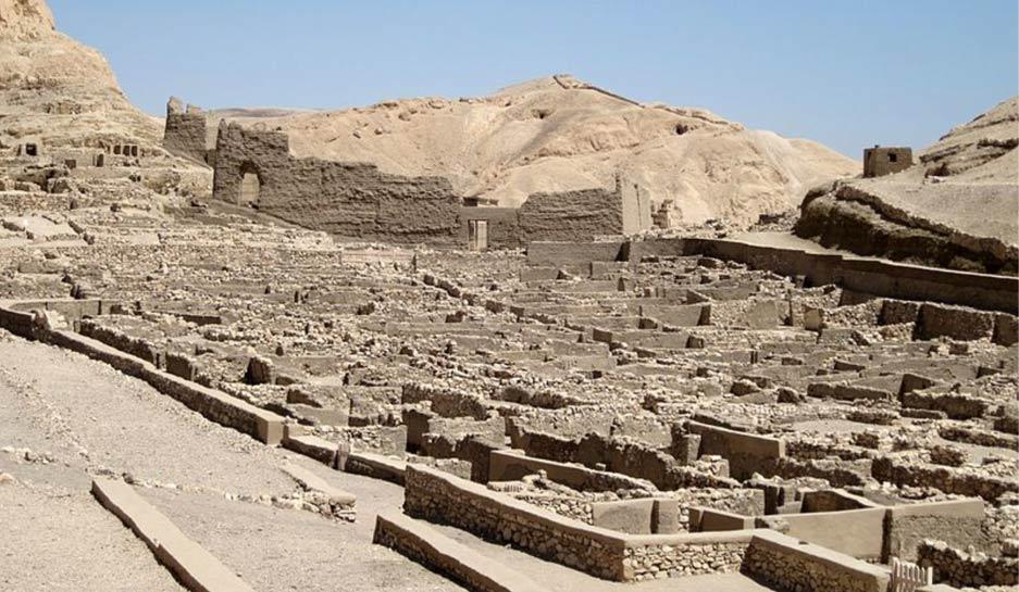 Nuevo estudio arroja luz en la antigua sistema de salud egipcio en Deir el-Medina