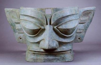 bronze mask of Sanxingdui - Únicos 3.000 años de antigüedad artefactos Sanxingdui para ser revelado en toda su gloria