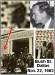bush kennedy assassination dallas cia closeup tile - ¿J.F. K HIZO DEMASIADAS PREGUNTAS SOBRE OVNIS?
