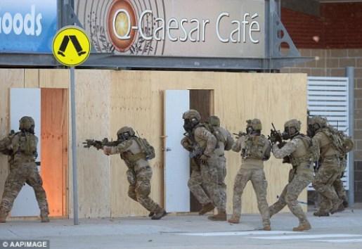 Australia simulo un atentado en Sydney 47 dias antes, ¿Casualidad?