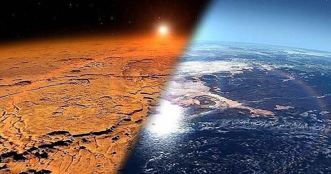 Marte: rios y lagos formados mucho antes de lo que se pensaba