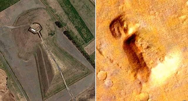 ¿Quién está sepultado en este «#montículo #funerario» en #Marte?