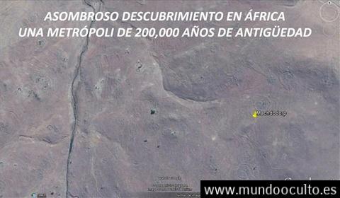 """Ciudad en Africa de mas de 200.000 años """"anunnaki"""""""