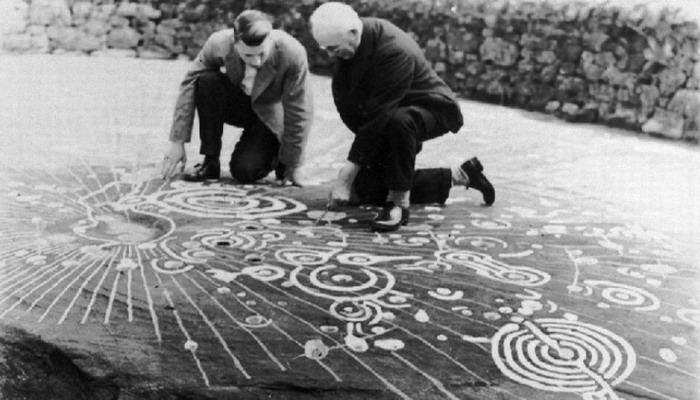 El misterio de la piedra Cochno un mapa dejado por los extraterrestres en la antigüedad