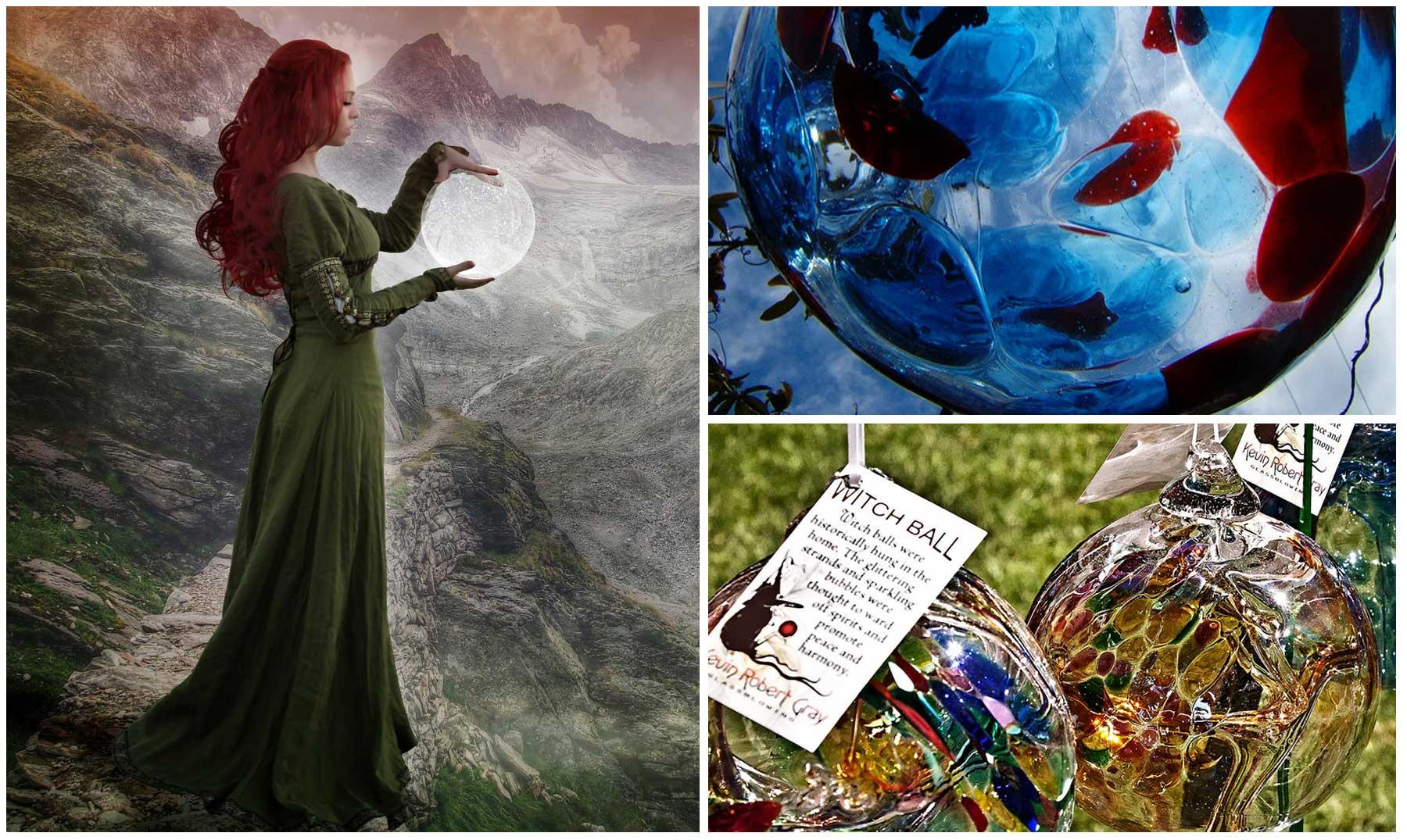 Las enigmáticas Bolas de Bruja talismanes contra la hechicería