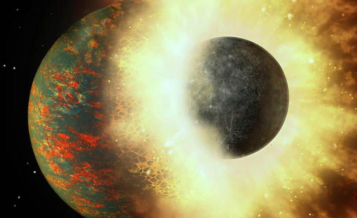 El impacto contra un planeta como Mercurio originó la vida en la Tierra