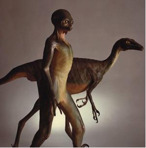 Presentamos a Troodon. El superviviente de la extinción de los dinosaurios, podría haber evolucionado hacia forma humanoide según algunos paleontólogos.