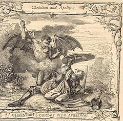 240px Christianandapollyon - Ocho de los demonios más famosos y temidos de las religiones del mundo