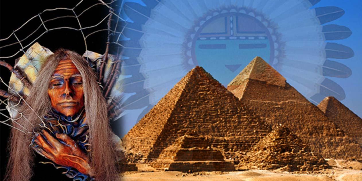 La sorprendente conexión entre las pirámides egipcias y el mito de la creación de los indios Hopi