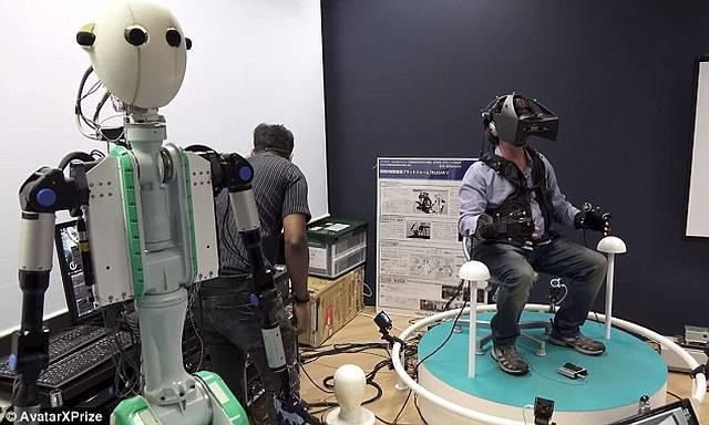 Robots permitirán transportar la consciencia humana a cualquier parte del mundo