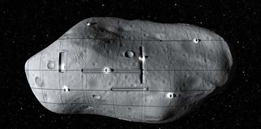 Según astrobiólogo: Los asteroides del sistema solar son realmente naves extraterrestres.