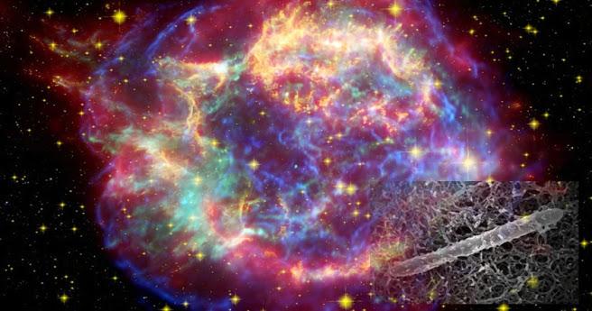 Astrobiólogo propone que organismos extraterrestres podrían alimentarse con rayos cósmicos.