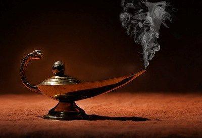 Los djins (los genios de las lámparas)