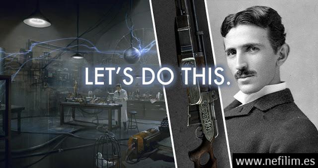 teasla - La Conexión Secreta: El Portal Interdimensional de Níkola Tesla, Van Gogh y Robert W. Chambers