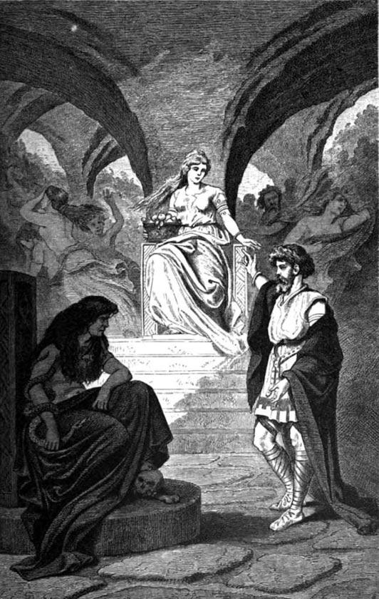 Viaje sin retorno a Helheim: la diosa Hel y el infierno de la mitología vikinga