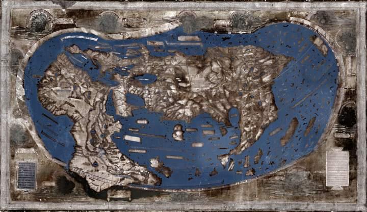 Desvelan los secretos del mapamundi que inspiró a Cristóbal Colón