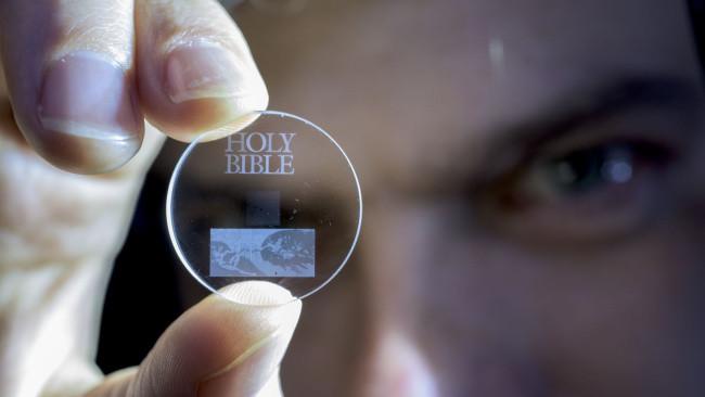 Ciencia: El récord de almacenamiento de un disco duro es: 13.800 millones de años