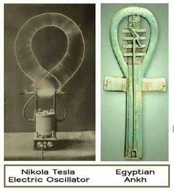 Tesla y la cruz egipcia Ank