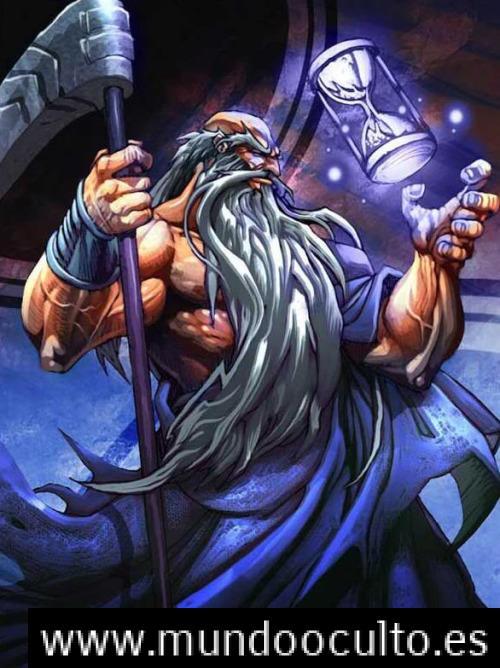 Cronos el padre de Zeus