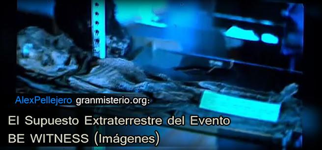 El Supuesto Extraterrestre del Evento BE WITNESS (Imágenes)