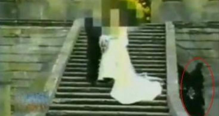 Fantasma De Un Monje Filmado En El Panteón De Belén