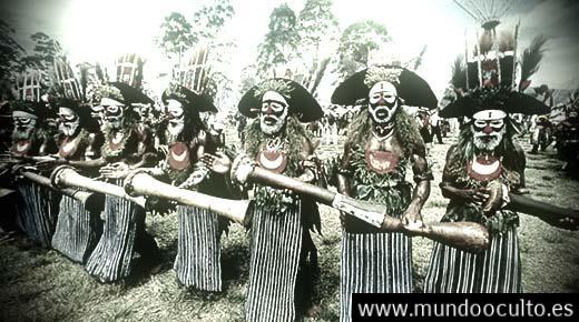 Hijos perdidos de los Anunnaki CONFIRMADOS: ADN de tribu melanesia portan genes de especies desconocidas