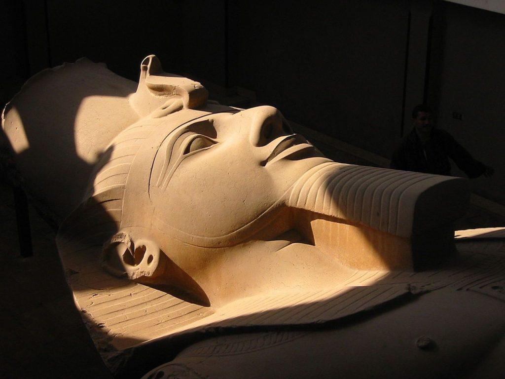 La Perfecta Simetría del Rostro del Faraón Ramses