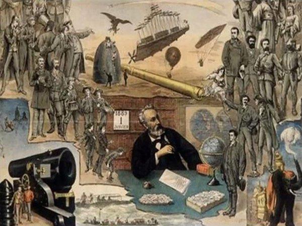 """Las Increíbles Predicciones de """"Julio Verne"""""""