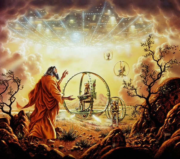 ovnis biblia - Pruebas Evidentes de Ovnis en la Biblia
