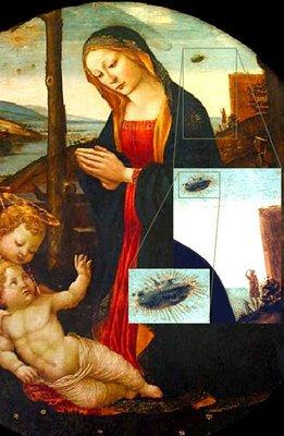ufo madonna saintgiovannino - Pruebas Evidentes de Ovnis en la Biblia