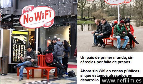 """Holanda prohibe el Wi-Fi en zonas públicas, """"Platiquen entre ustedes"""""""