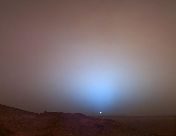 NASA: marte es rojo en parte