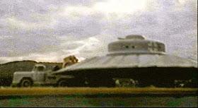 72 - USAF desclasifica platillo volador de 1950
