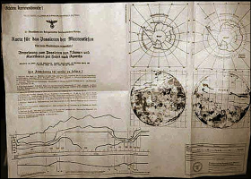Antarctic Map Asgard - USAF desclasifica platillo volador de 1950