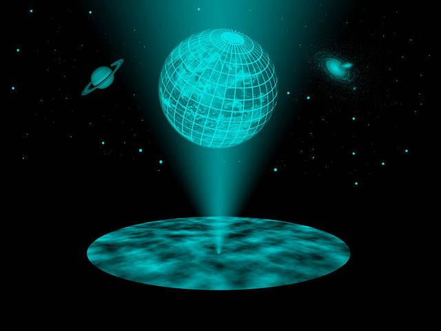 Vivimos en un holograma. Cada vez mas posible