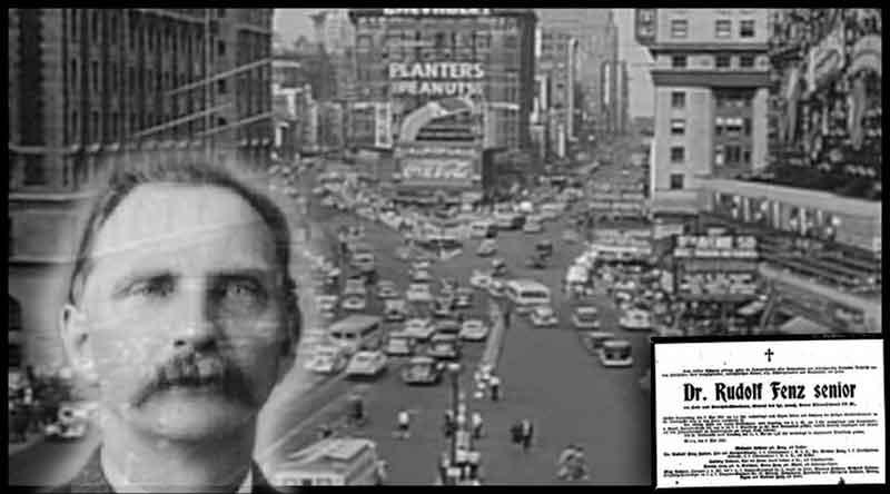 El misterio de Rudolph Fentz, el crononauta que apareció en apareció en el Times Square