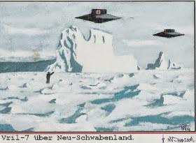 Vril 7 uber Neu Schwabenland by Madguten - USAF desclasifica platillo volador de 1950